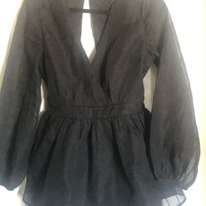 Fashion nova brand new romper size xl